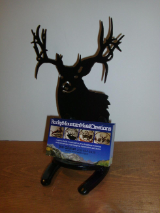 Whitetail business card holder