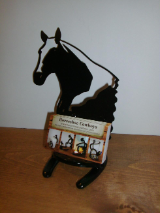 Horse Business card holder