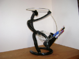 Roping pen holder without the paper clip tray