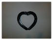 Single heart wall hanging picture frame