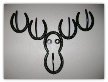 Moose hat rack